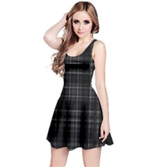 Plaid Design Reversible Sleeveless Dress by Valentinaart