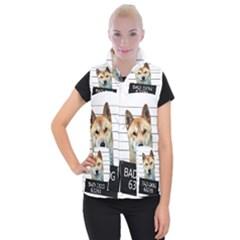 Bad Dog Women s Button Up Puffer Vest