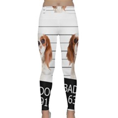 Bad Dog Classic Yoga Leggings by Valentinaart