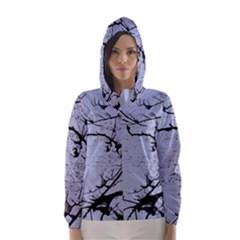 Grebe Spotting Ink Hooded Wind Breaker (women) by DeneWestUK