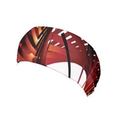 Webbing Red Yoga Headband