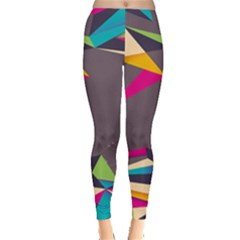 Origami Bird Japans Papper Leggings  by Mariart