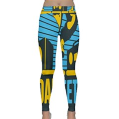 Street Dance R&b Music Classic Yoga Leggings by Mariart