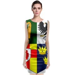 Arms Of Four Provinces Of Ireland  Classic Sleeveless Midi Dress by abbeyz71