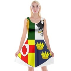 Arms Of Four Provinces Of Ireland  Reversible Velvet Sleeveless Dress by abbeyz71