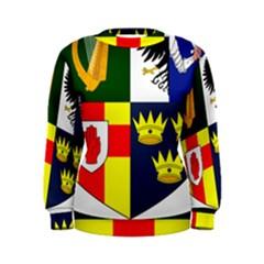 Arms Of Four Provinces Of Ireland  Women s Sweatshirt by abbeyz71