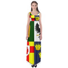 Arms Of Four Provinces Of Ireland  Empire Waist Maxi Dress by abbeyz71