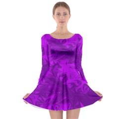 Colors Long Sleeve Skater Dress
