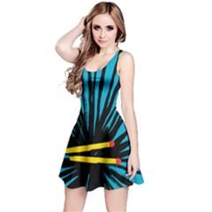 Match Cover Matches Reversible Sleeveless Dress
