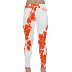 Red Spot Paint Classic Yoga Leggings by Mariart