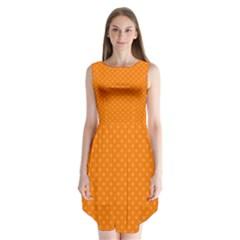 Dots Sleeveless Chiffon Dress   by Valentinaart
