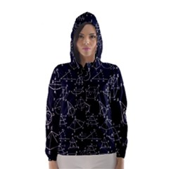 Geometry Geometry Formula Hooded Wind Breaker (women) by Mariart