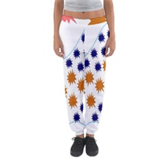Island Top View Good Plaid Spot Star Women s Jogger Sweatpants by Mariart
