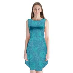Abstraction Sleeveless Chiffon Dress   by Valentinaart