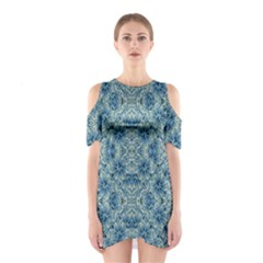 Modern Baroque Pattern Shoulder Cutout One Piece by dflcprintsclothing