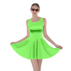 Neon Color   Light Brilliant Harlequin Skater Dress by tarastyle