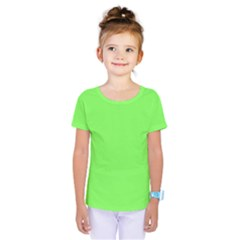 Neon Color   Light Brilliant Harlequin Kids  One Piece Tee by tarastyle