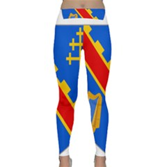 County Armagh Coat Of Arms Classic Yoga Leggings by abbeyz71