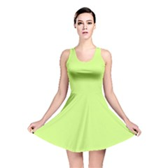 Neon Color   Very Light Spring Bud Reversible Skater Dress by tarastyle
