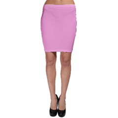 Pastel Color   Pale Cerise Bodycon Skirt by tarastyle