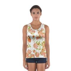 Floral Dreams 12 D Women s Sport Tank Top  by MoreColorsinLife