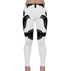 Caucasian Albanian Cross Classic Yoga Leggings by abbeyz71