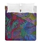 Collection: Acquerello<br>Print Design: Scents of Spring / Summer Hum<br>Style: Reversible Duvet Cover