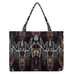 Urban Industrial Rust Grunge Medium Zipper Tote Bag by CrypticFragmentsDesign
