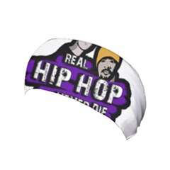Real Hip Hop Never Die Yoga Headband by Valentinaart