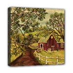 Old Red Barn By Ave Hurley - Mini Canvas 8  x 8  (Stretched)
