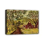 Old Red Barn By Ave Hurley - Mini Canvas 7  x 5  (Stretched)