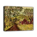 Old Red Barn By Ave Hurley - Canvas 10  x 8  (Stretched)