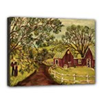 Old Red Barn By Ave Hurley - Canvas 16  x 12  (Stretched)