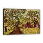 Old Red Barn By Ave Hurley - Canvas 18  x 12  (Stretched)