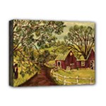 Old Red Barn By Ave Hurley - Deluxe Canvas 16  x 12  (Stretched)