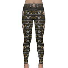 Pearls And Hearts Of Love In Harmony Classic Yoga Leggings by pepitasart