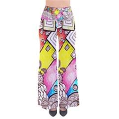 Beautiful Colorful Doodle Pants by Nexatart
