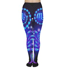 Sign Scorpio Zodiac Women s Tights by Mariart