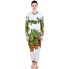 Cactus   Dont Be A Prick Onepiece Jumpsuit (ladies)  by Valentinaart