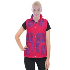 Funny Foggy Thing Women s Button Up Puffer Vest by Nexatart