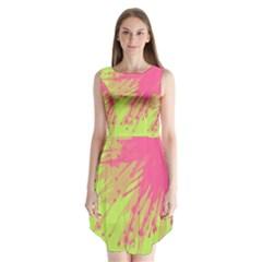 Big Bang Sleeveless Chiffon Dress   by ValentinaDesign