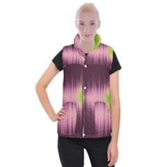 Light Women s Button Up Puffer Vest by ValentinaDesign