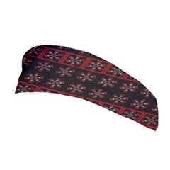 Dark Tiled Pattern Stretchable Headband