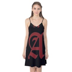 The Scarlet Letter Camis Nightgown by Valentinaart