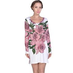 Orchid Long Sleeve Nightdress by Valentinaart