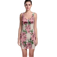 Orchid Sleeveless Bodycon Dress by Valentinaart