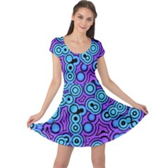 Bubble Fun 17f Cap Sleeve Dresses by MoreColorsinLife