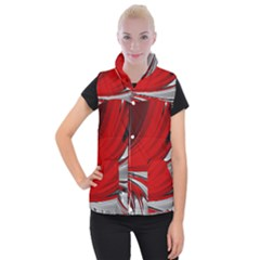 Colors Women s Button Up Puffer Vest by ValentinaDesign