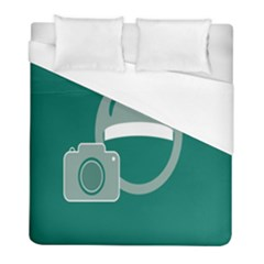 Laughs Funny Photo Contest Smile Face Mask Duvet Cover (full/ Double Size) by Mariart
