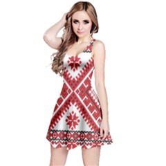 Fabric Aztec Reversible Sleeveless Dress by Mariart